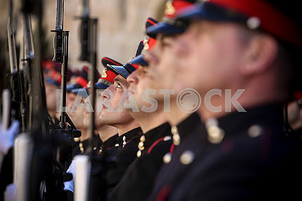 Рота почетного караула республики Мальта