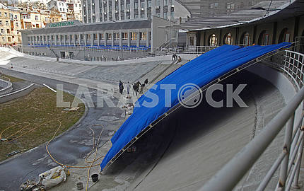 Реконструкция киевского велотрека