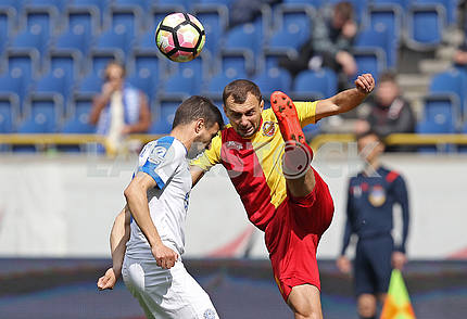 The game moment of the match Dnipro - Zirka