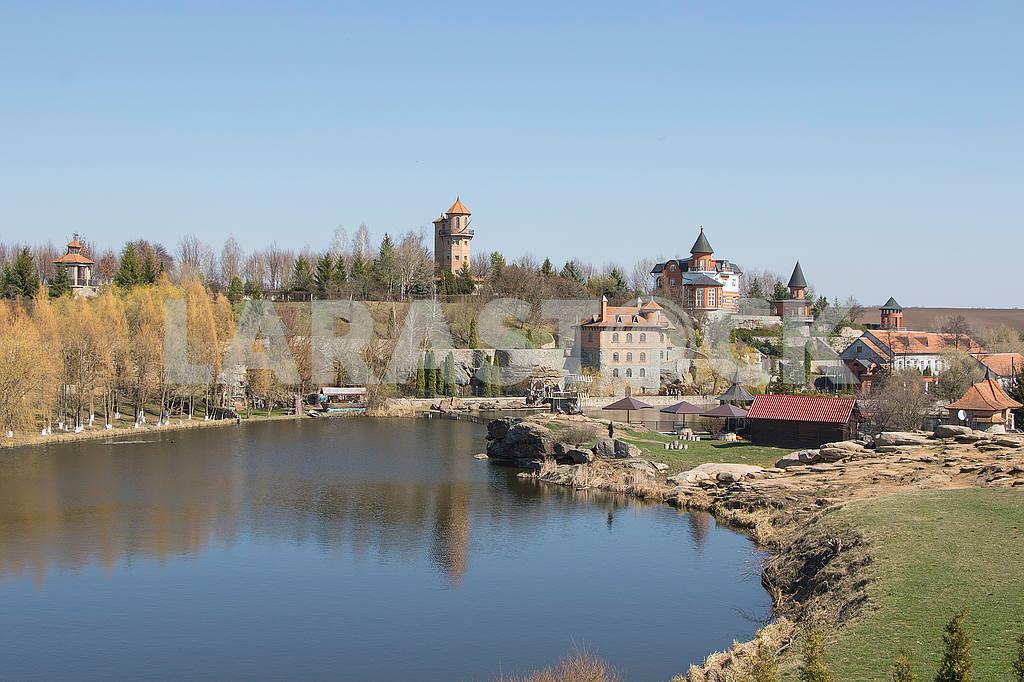 Pond in a landscape park — Image 54231