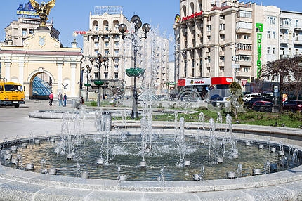 Fountain on the Independence Square