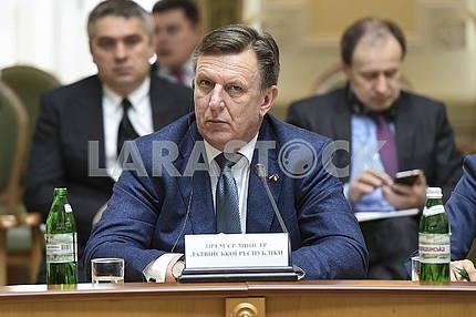 Prime Minister of Latvia Maris Kuchinskis