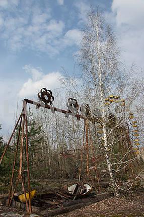 Качели в городе Припять