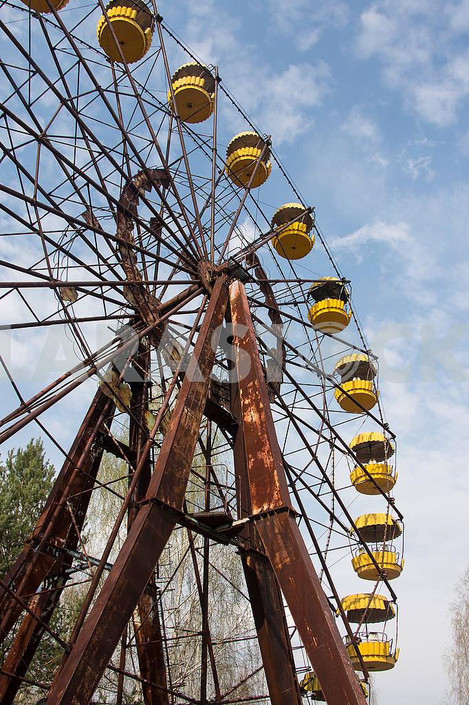 Ferris wheel in Pripyat — Image 54294