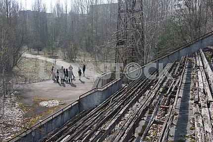 Stadium in Pripyat
