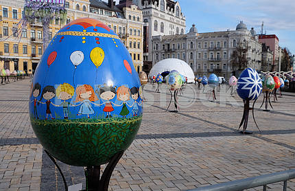 Festival of Easter eggs in Kiev