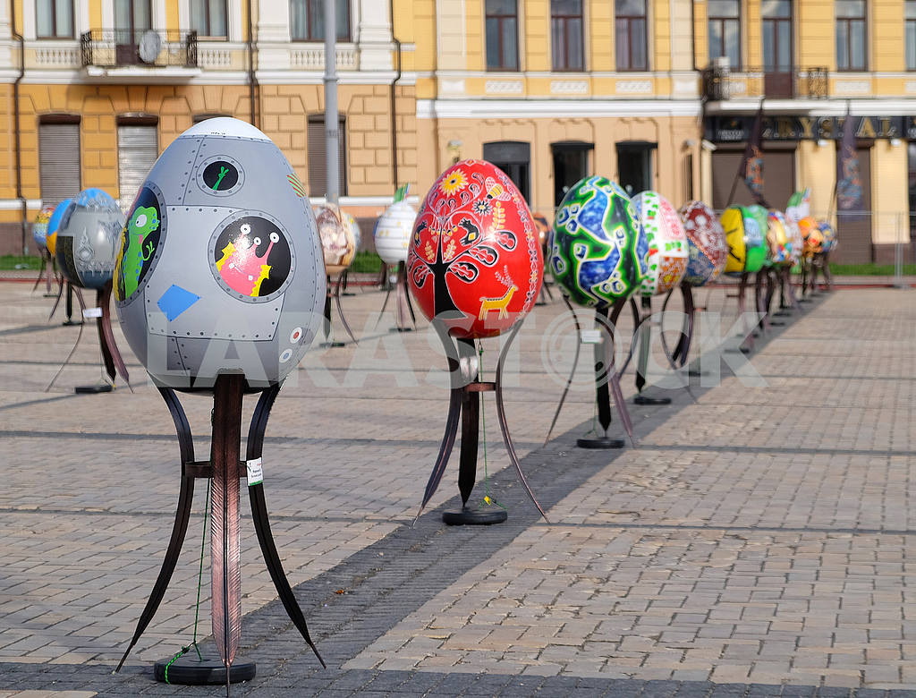 Festival of Easter eggs in Kiev — Image 54360