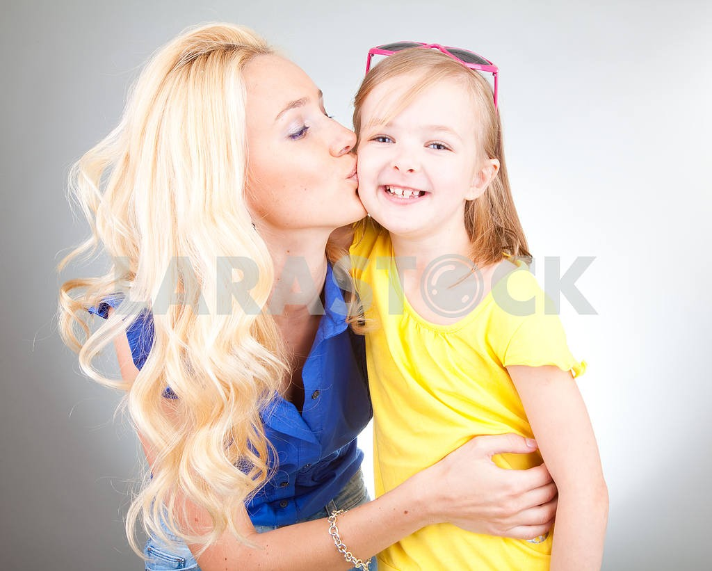 Mom and Daughter Having Fun — Image 5442