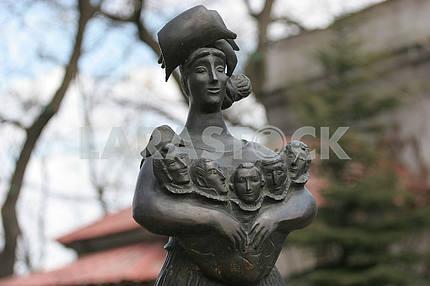 Памятник Одессе-маме