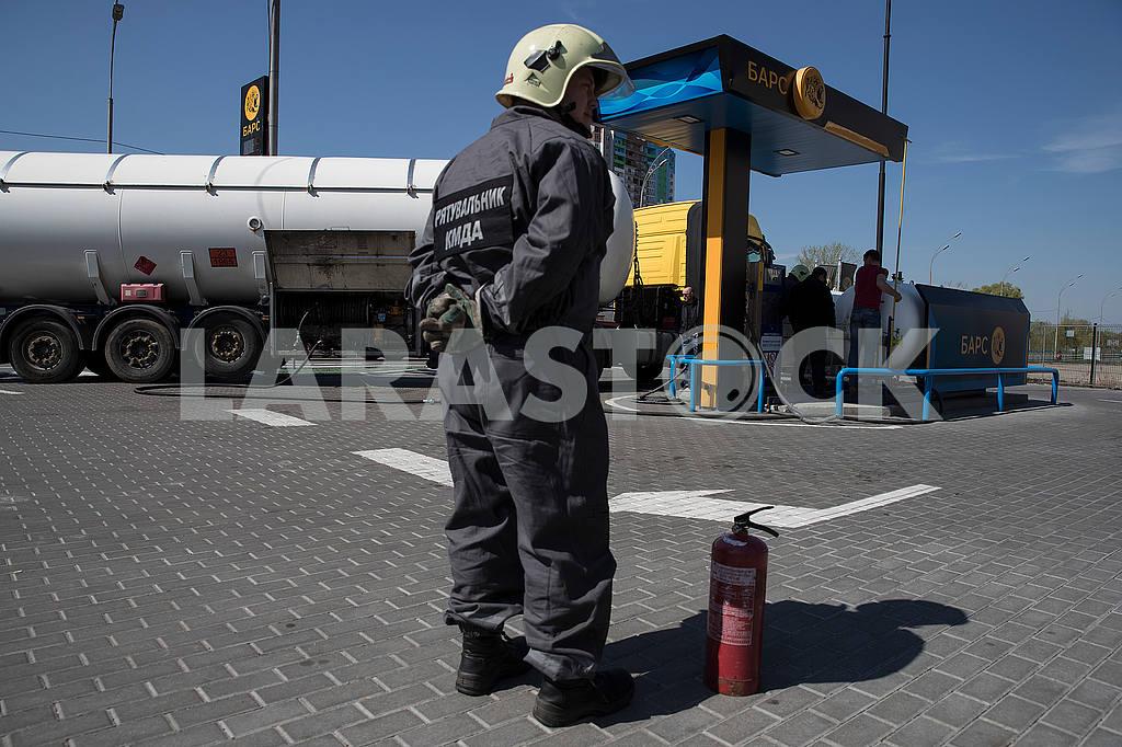 Gas station in Kiev — Image 54486