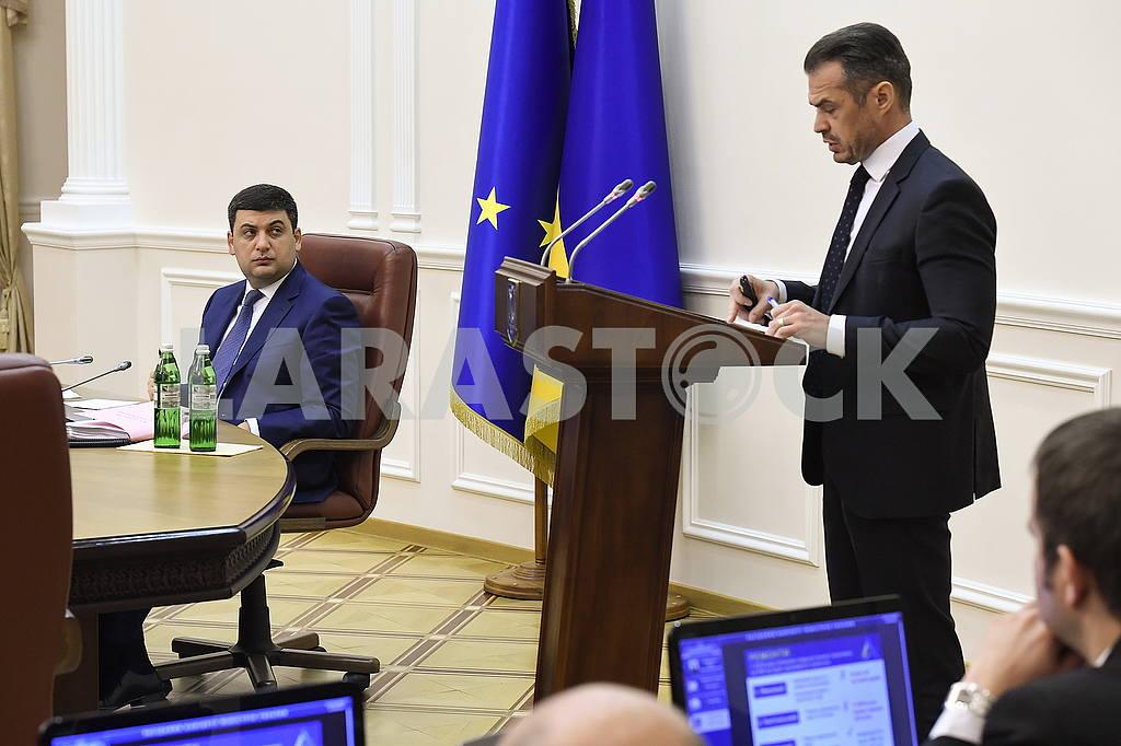 Slawomir Nowak and Vladimir Groisman — Image 54509