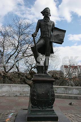 Памятник Иосифу Дерибасу в Одессе