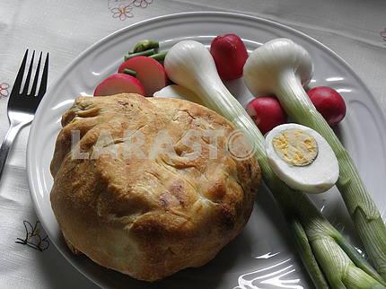 Хорватский пасхальный завтрак, 2