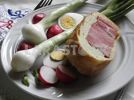 Хорватский пасхальный завтрак, 3