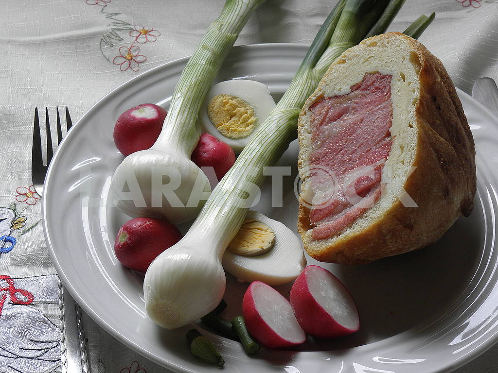 Croatian Easter breakfast,4 — Image 54594