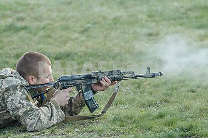 Military training
