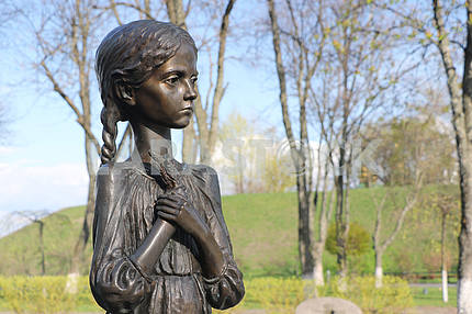 Memorial to the victims of the Holodomor