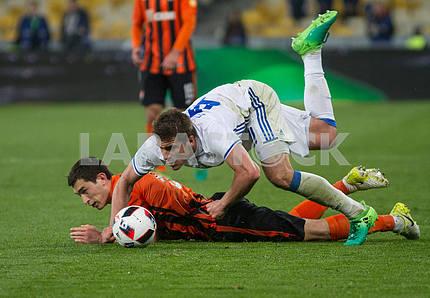 Taras Stepanenko and Artem Besedin