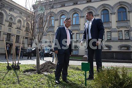 Shigeki Sumi and Vitali Klitschko