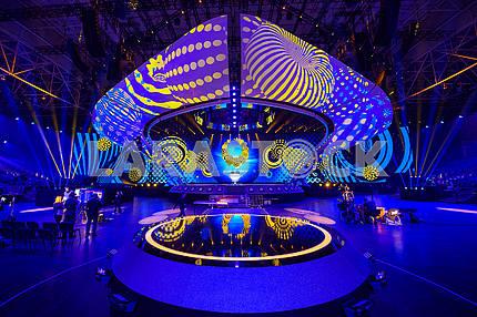Сцена Евровидения на МВЦ