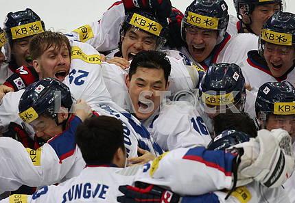 Korea-Ukraine 1: 1