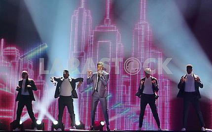 Eurovision participant Robin Bengtsson