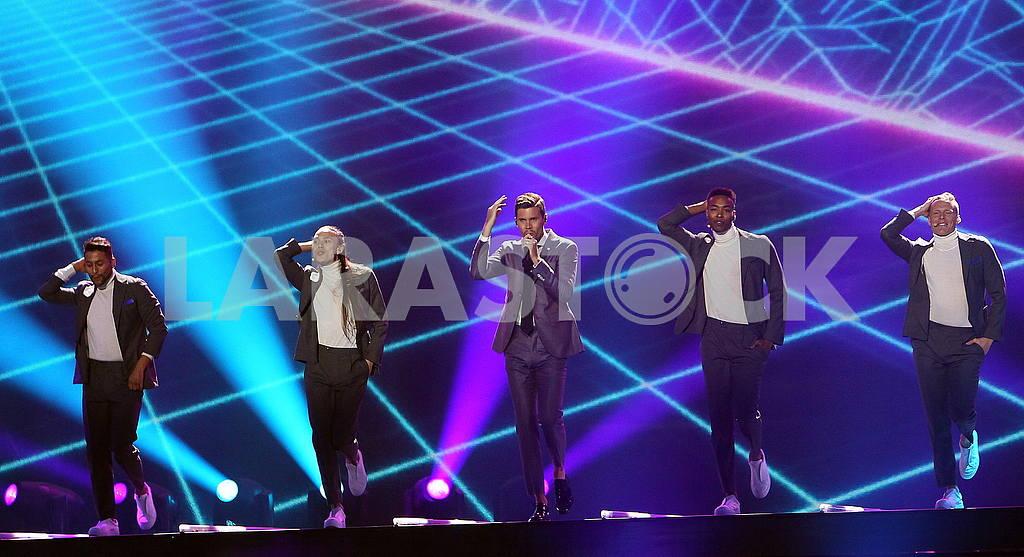 Eurovision participant Robin Bengtsson — Image 55259