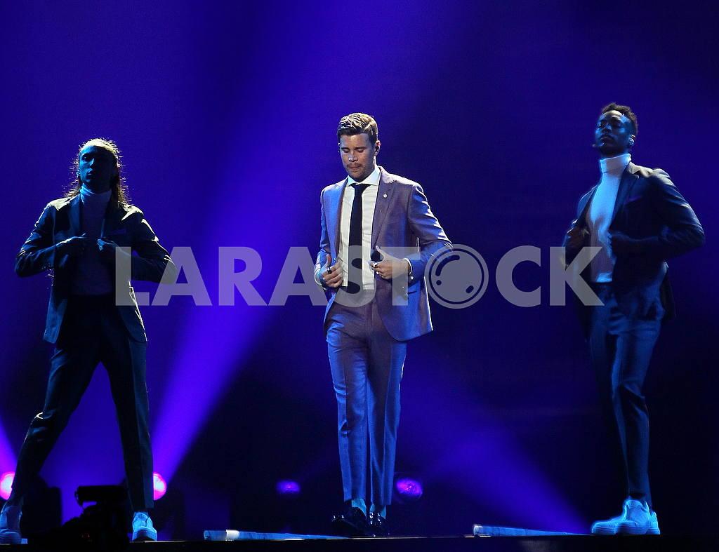 Eurovision participant Robin Bengtsson — Image 55262