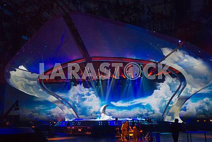 Сцена конкурса на Евровидении 2017