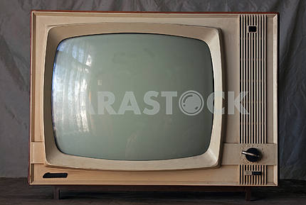 Old soviet retro TV