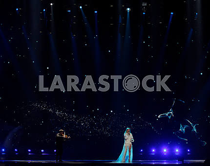 At the Eurovision Song Contest