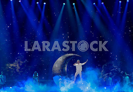 Nathan Trent at Eurovision Song Contest