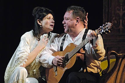 Bogdan Benyuk and Polina Lazova