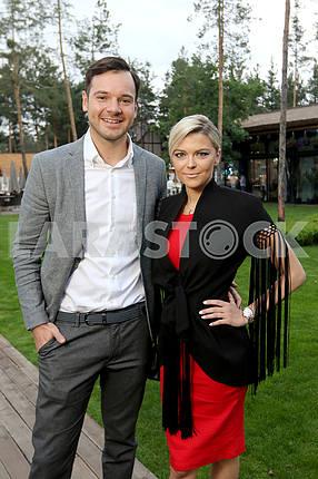 Alexey Brynzak with Irisha Blokhina
