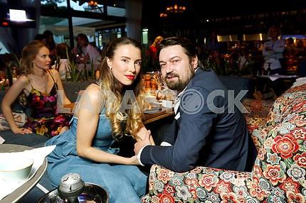 Elena Bezuglaya and Andrei Yushchenko