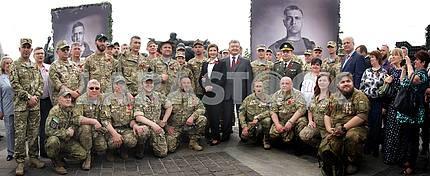 Kyiv, Ukraine, May 8, 2017: President of Ukraine Petro Poroshenk