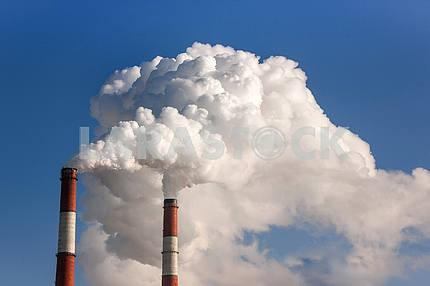 Industrial pipes - global warming