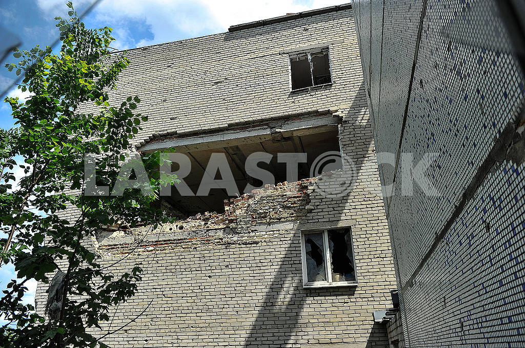 Consequences of the bombardment of Krasnogorovka — Image 56234