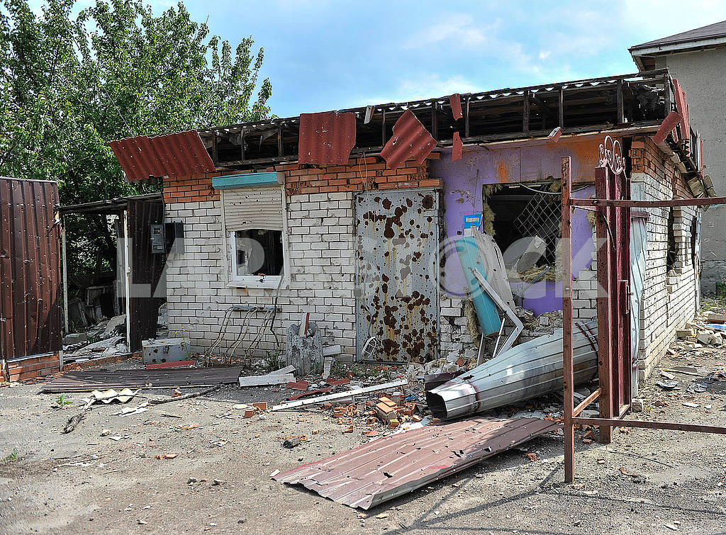 Consequences of the bombardment of Krasnogorovka — Image 56241