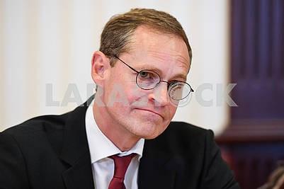 The Mayor of Berlin Michael Muller