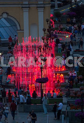 Light music fountains