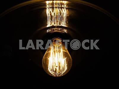 Старая модная лампа