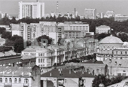 Vinnytsia, central part of the city,