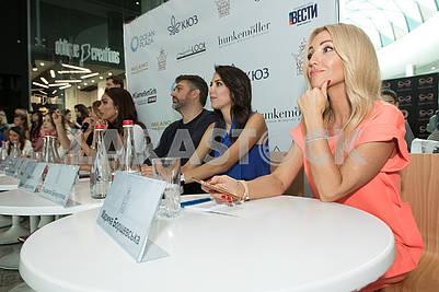 Жюри открытого кастинга конкурса красоты Мисс Украина Вселенная