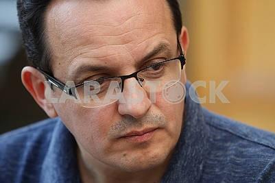 Oleg Berezyuk went on a hunger strike
