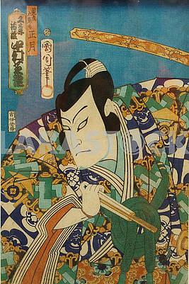 Japanese engraving