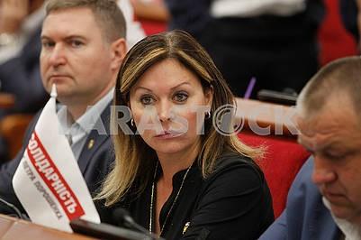 Deputy Elena Ovramenko
