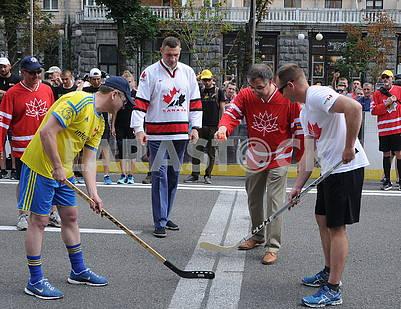 Vitali Klitschko and Roman Vashchuk