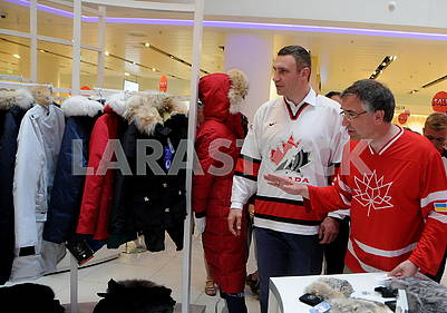 Виталий Кличко и Роман Ващук