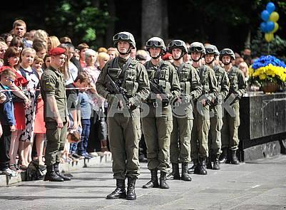 Офицеры Национальной гвардии